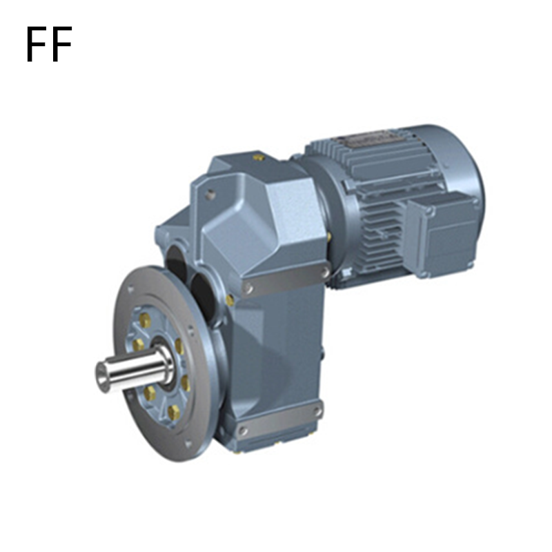 China F Series FAF67 parallel shaft helical worm gearing