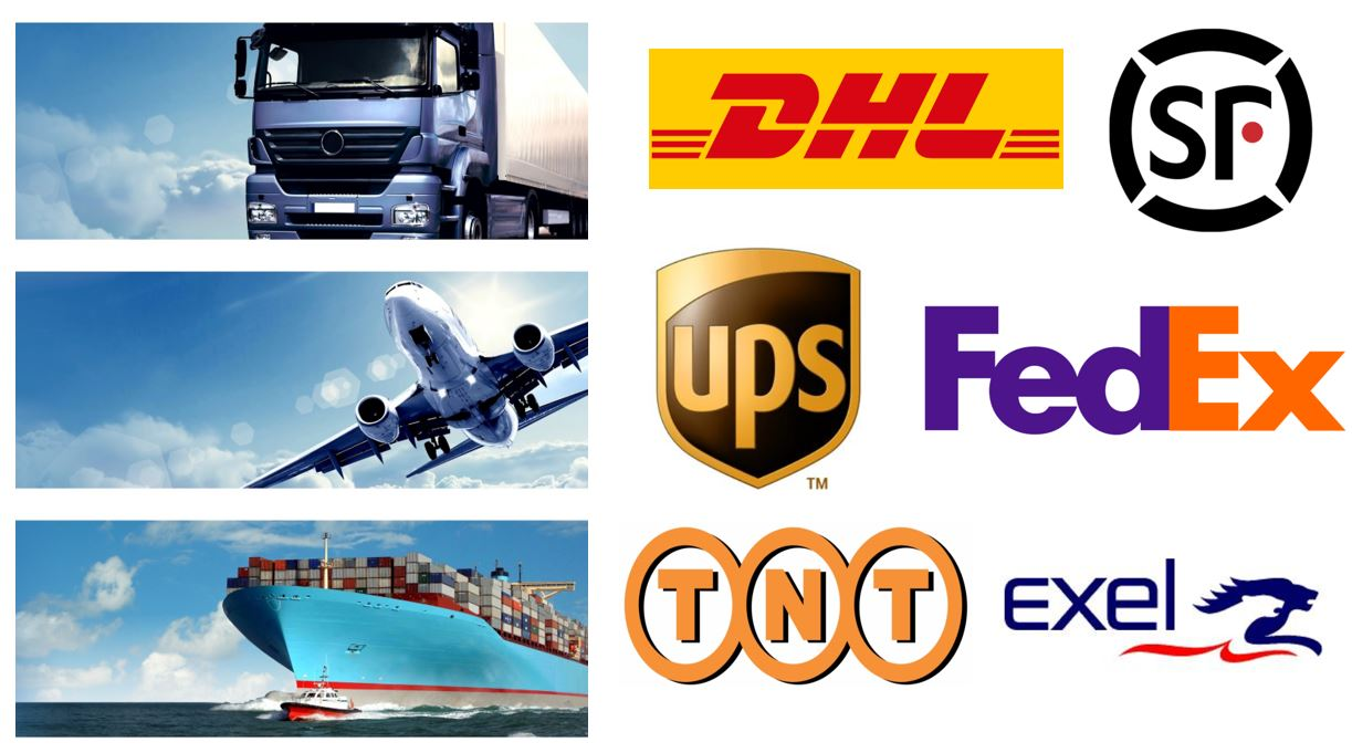 Ways of shipment and express company